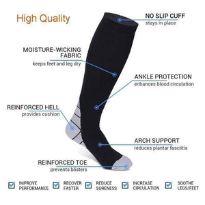 20-30 MMHG NURSING PERFORMANCE COMPRESSION SOCKS