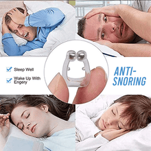 Load image into Gallery viewer, Anti Snoring Magnetic Nose Clip