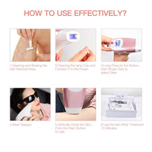 Load image into Gallery viewer, Premium Laser Hair Removal For Women & Men 300,000 Flashes IPL Epilator Home Trimmer