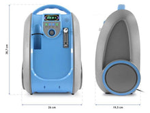 Load image into Gallery viewer, Medical Oxygen Concentrator Portable Breathing Machine Generator 5L