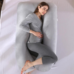 Full Body Boyfriend Pillow U-Shaped Maternity Hugging Pillow