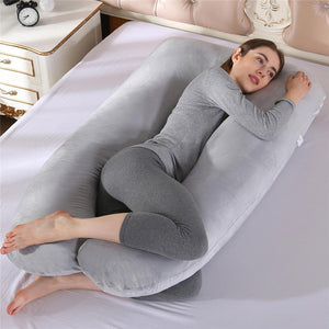 Full Body Boyfriend Pillow U-Shaped Maternity Hugging Pillow - Morealis