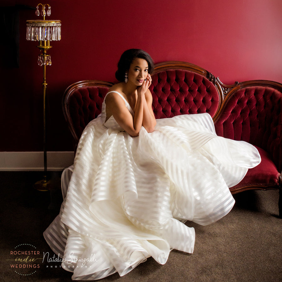 Vivid Bridal Romance; A Styled Photo Shoot