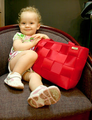 """Little Audrey with her """"pick of the day"""" at Adorn 2008"""