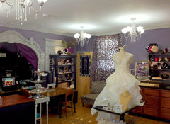 Interior of Adorn Jewelry on Coy St Canandaigua 2012