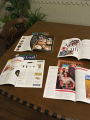 Various Magazines Erica Bapst from Adorn Jewelry has been Featured in