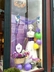 finished Mary Poppins Window
