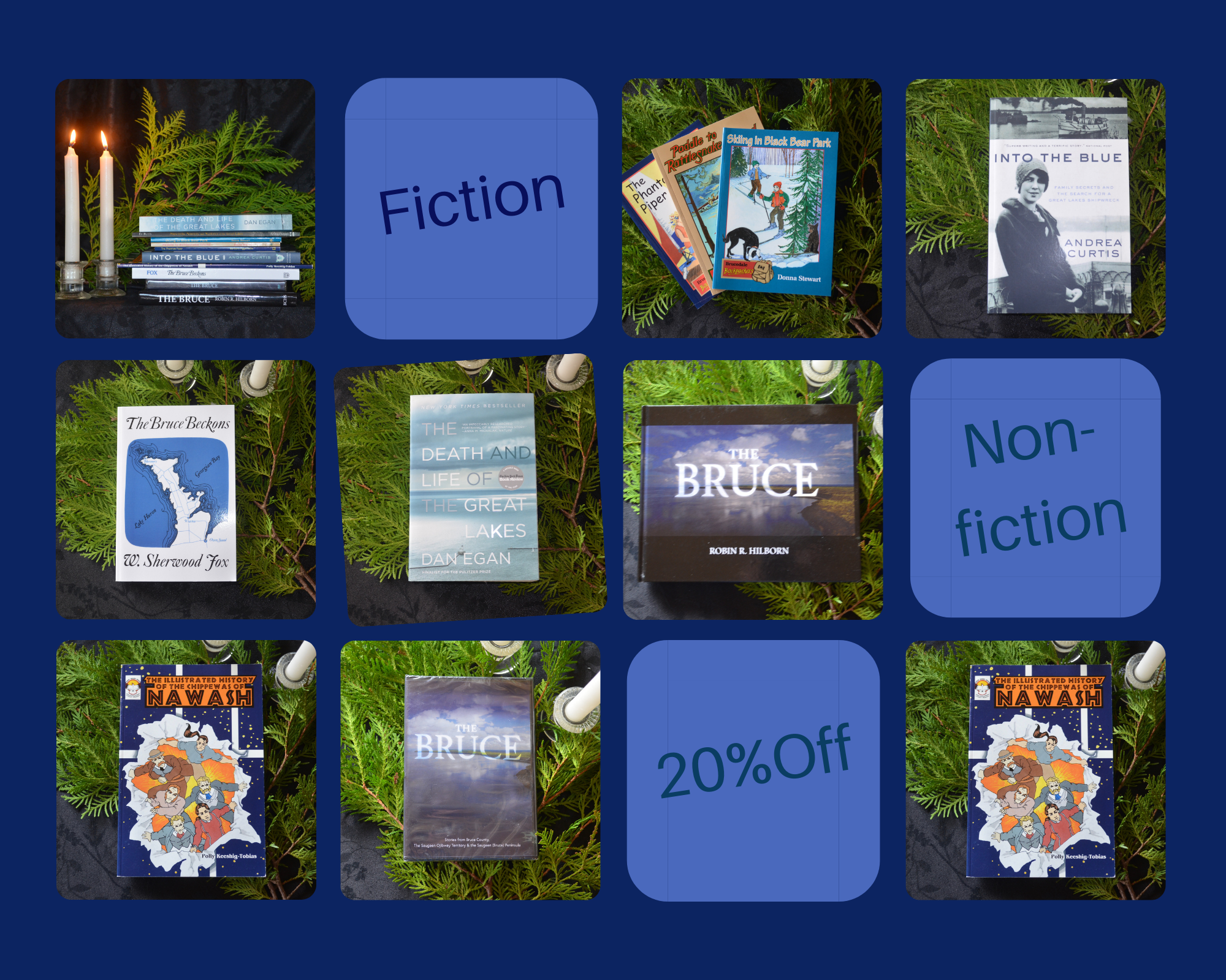 20% Off Bruce County Connected Book Titles for You and Those you Love!