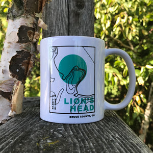 The Topo Series Lion's Head Mug