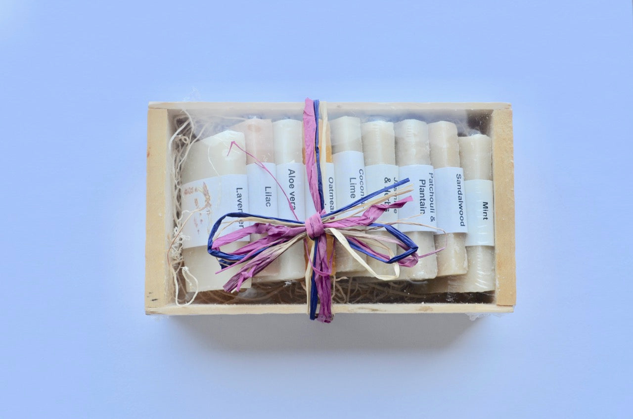 Box of 9 Mini Soap Sampler