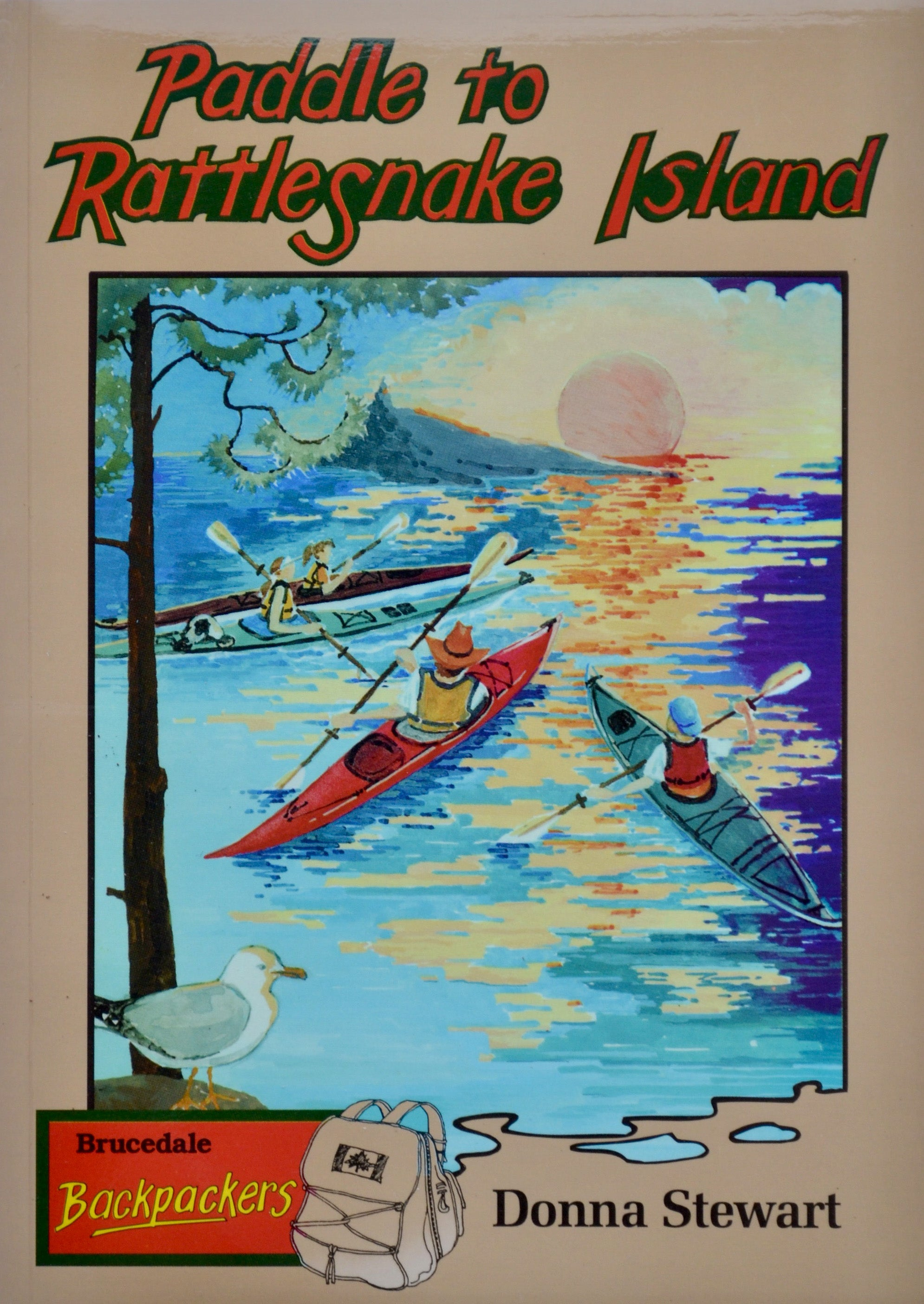 Paddle to Rattlesnake Island (Children's Paperback)