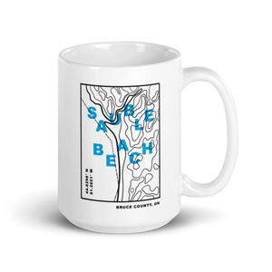 The Topo Series Sauble Beach Mug