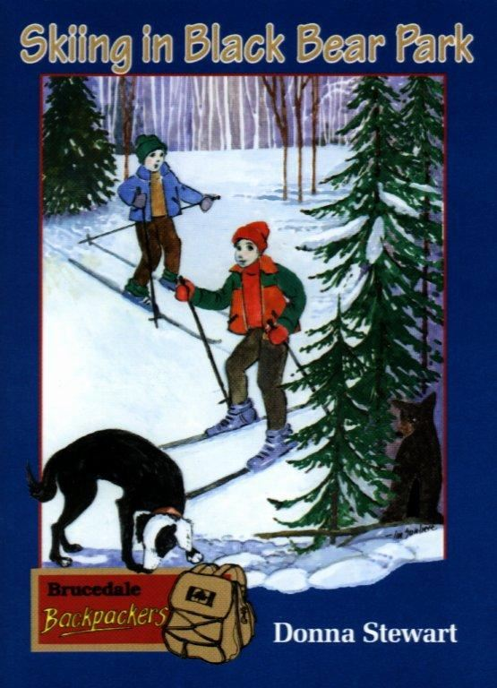 Skiing in Black Bear Park (Children's Paperback)