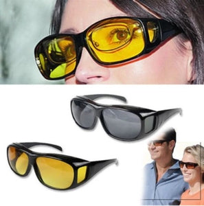 Trends Villa™ Night Vision Yello & Black Glasses - Trends Villa