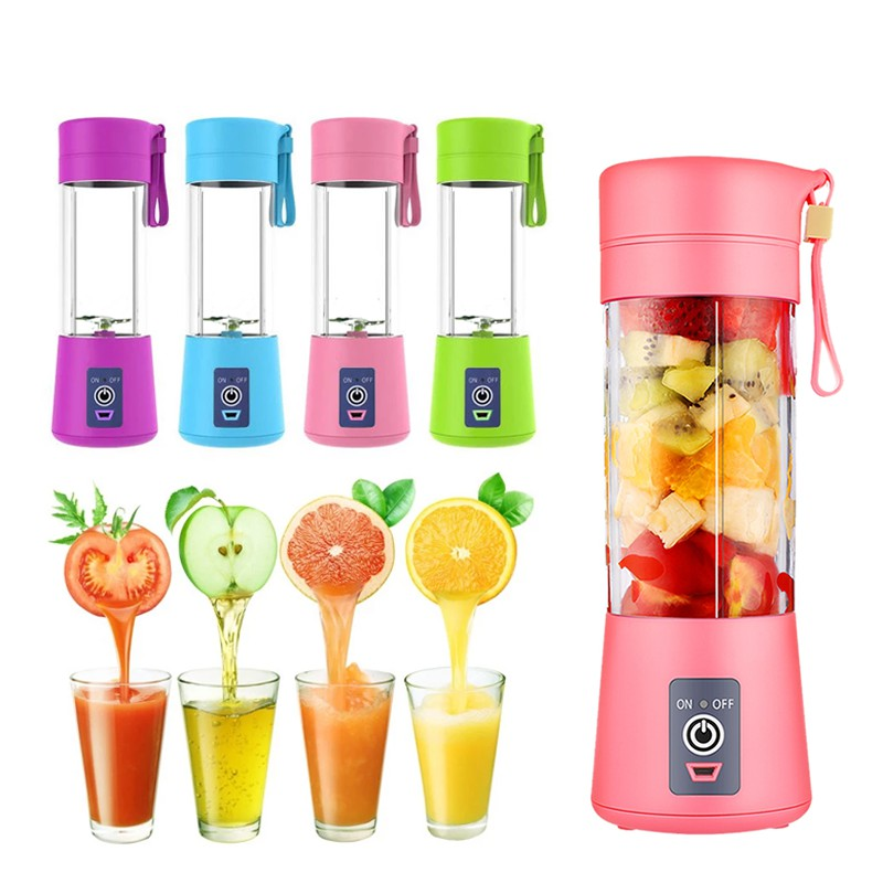 Trends Villa™ Portable 4 Blade USB Electric Blender Juicer - Trends Villa