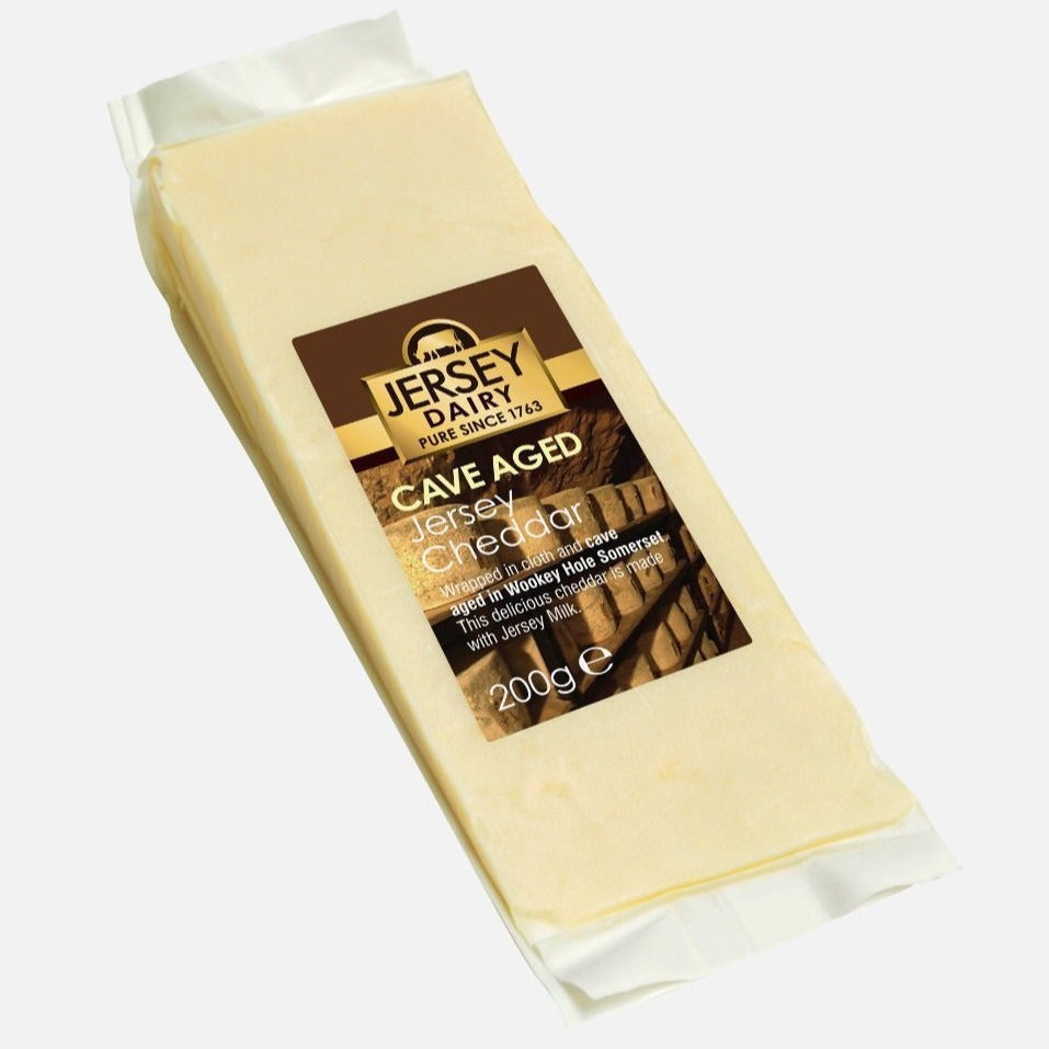 Cheese - Cheddar Cave Aged 200g - Jersey Dairy