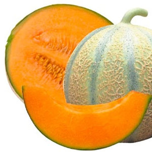 Melon Charentais - orange flesh