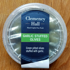 Olives - Clemency Hall Garlic Stuffed 180g