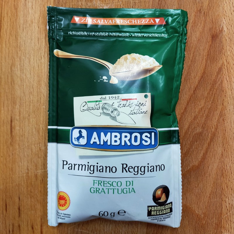 Cheese - Parmigiano Reggiano Grated 60g