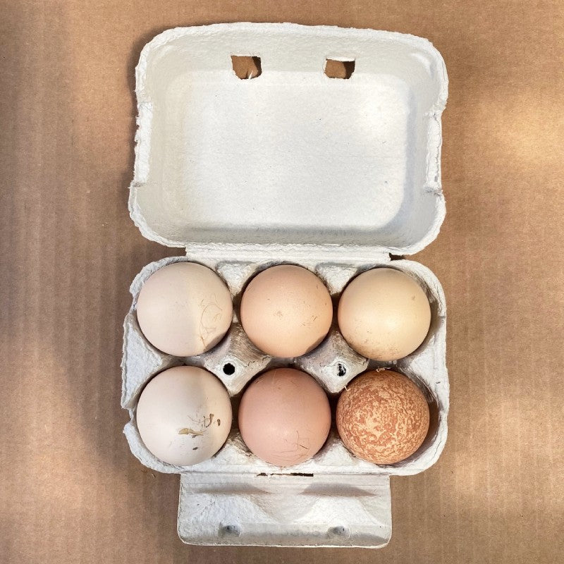Eggs Free Range Box of 6 - Lucas Farm