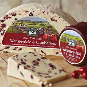Cheese - Wensleydale Cranberry 180g