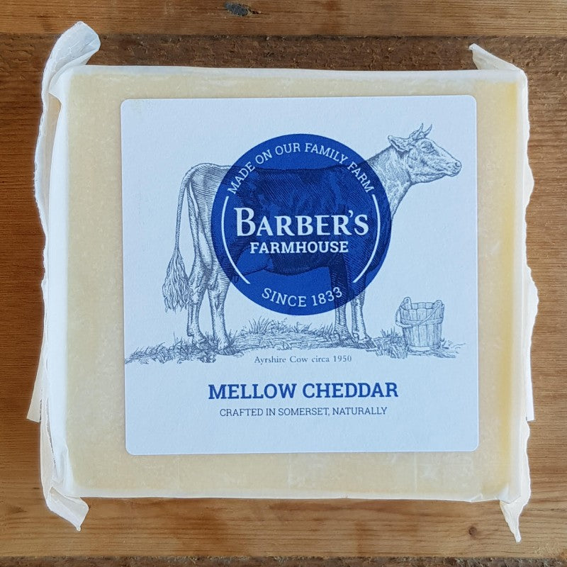 Cheese - Barber's Farmhouse Mellow Cheddar 200g