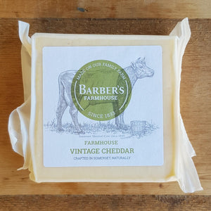 Cheese - Barber's Farmhouse Vintage Cheddar 200g