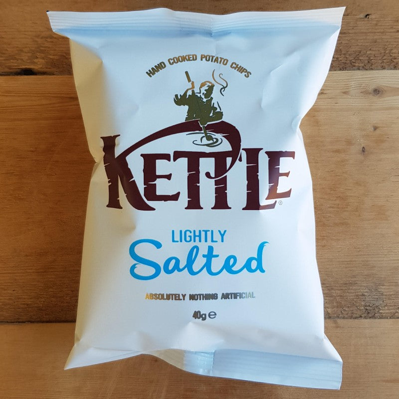 Kettle Crisps Lightly Salted 40g
