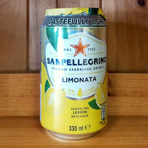 Limonata San Pellegrino Can 330ml