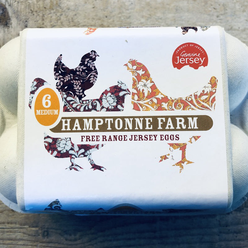 Eggs Free Range Box of 6 - Hamptonne Farm