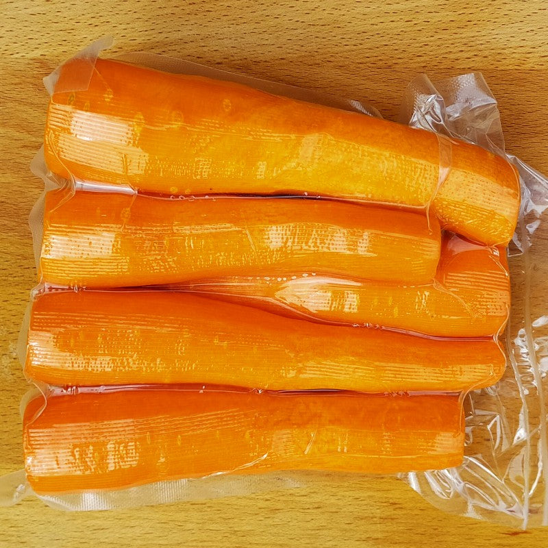 Prepped - Peeled Whole Carrots 500g