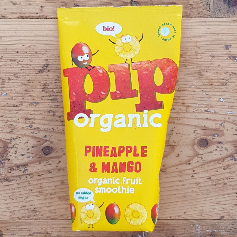 Pip Pineapple & Mango Organic Fruit Smoothie 180ml