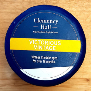 Cheese - Clemency Hall Victorious Vintage Cheddar 200g