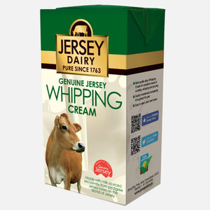 Whipping Cream Long Life 1l - Jersey Dairy