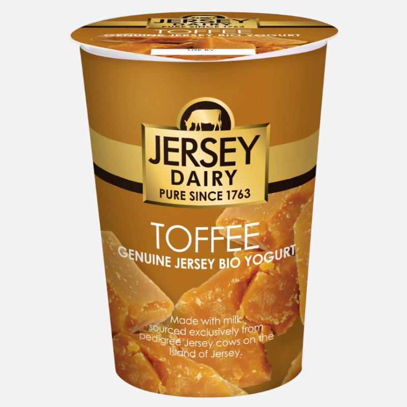 Yogurt Toffee 500ml - Jersey Dairy