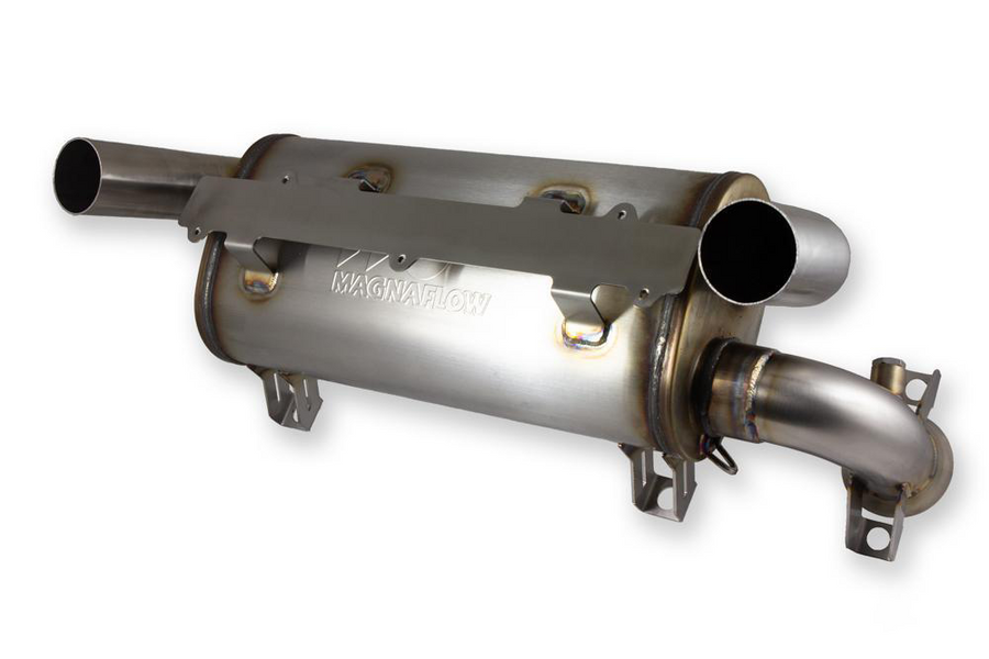 Double-Down Muffler for Polaris RZR XP-1000 (2015+) and RZR RS1 (all)