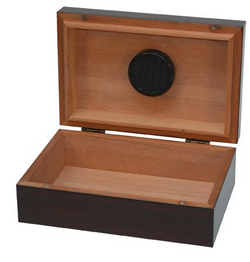 10 Count Travel Humidor - Mahogany
