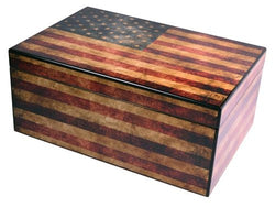 Old Glory Capri Humidor - 25 Count