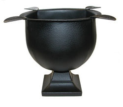 Stinky Deep Dish Ashtray - Cast Iron Black