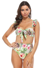 Load image into Gallery viewer, Barcelona Tropical Bikini - Top | New Fashion Women Dresses, Swimwear, Shoes, and accessories online!
