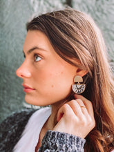 Load image into Gallery viewer, Half Moon Earrings