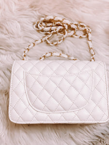 Camelia Quilted Purse