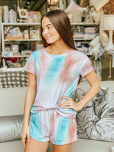 Load image into Gallery viewer, Sasha Tie Dye Loungewear Blouse