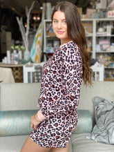 Load image into Gallery viewer, Pink Leopard Loungewear Bottom