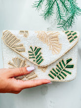 Load image into Gallery viewer, Palm Print Beaded Clutch | New Fashion Women Dresses, Swimwear, Shoes, and accessories online!