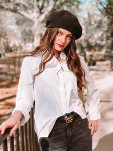 The Classic White Shirt freeshipping - Belle Isabella Boutique
