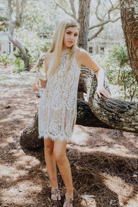 Fairytale White Lace Dress | New Fashion Women Dresses, Swimwear, Shoes, and accessories online!