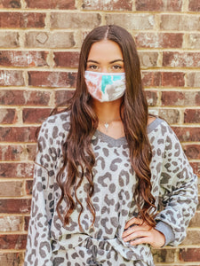 Tie-Dye Mask | New Fashion Women Dresses, Swimwear, Shoes, and accessories online!