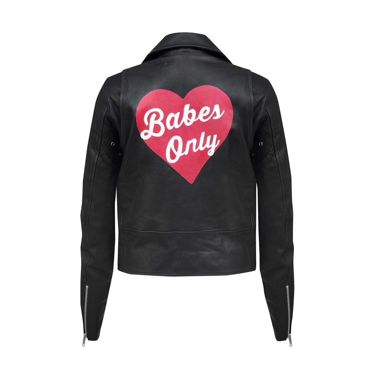 BABES ONLY LEATHER JACKET - WINSTON WOLFE