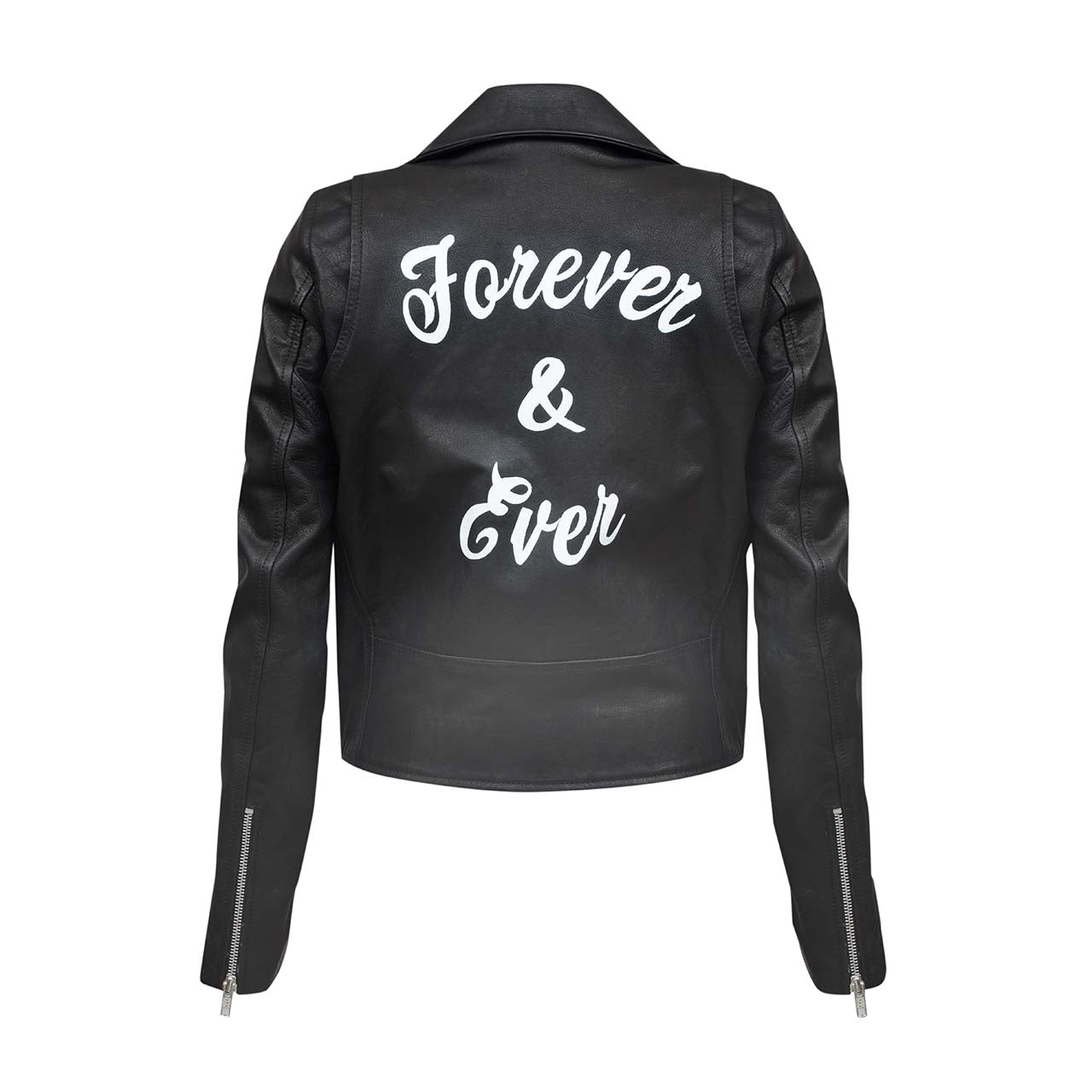 FOREVER LEATHER JACKET - WINSTON WOLFE